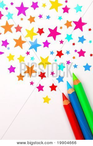 Colorful Pencils make Rainbow