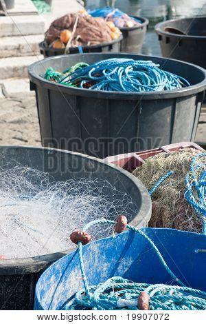 Fishery Equipment In Fisherman's Wharf