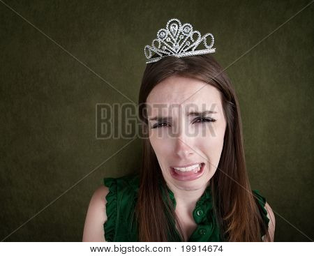Weeping Woman In A Tiara