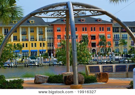 Scenic View Riverwalk Tampa Bay