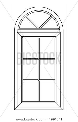 Planimetric Arch Window