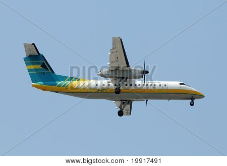 Bahamasair Propeller Airplane