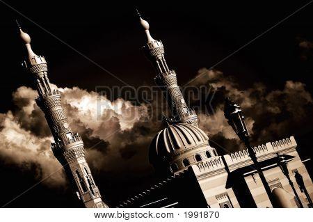 Rainclouds & A Mosque