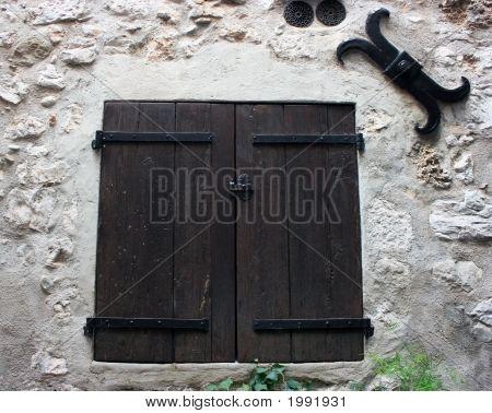 Medieval Window Shutters