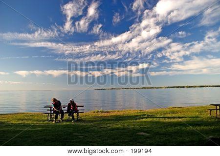 Simcoe Lake Evening
