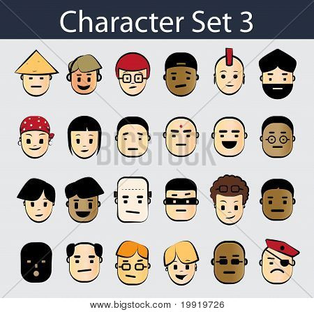Character Icon Set