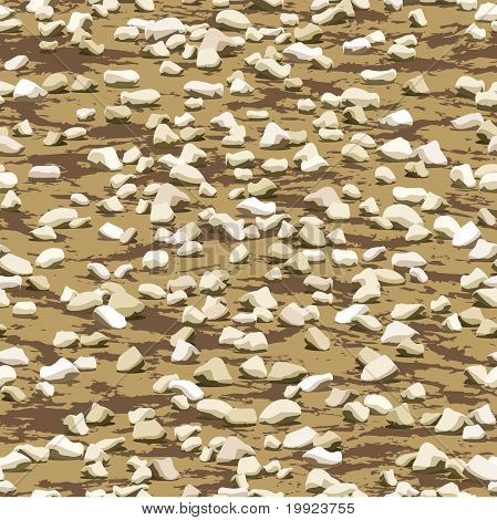 gravel on earth ground seamless texture