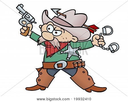 Cartoon Sheriff