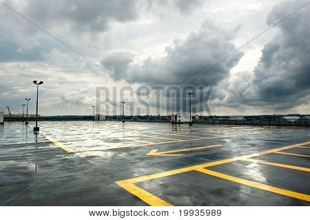 Rainy Parking