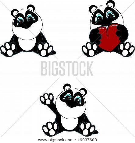 Imagenes animadas de oso panda - Imagui