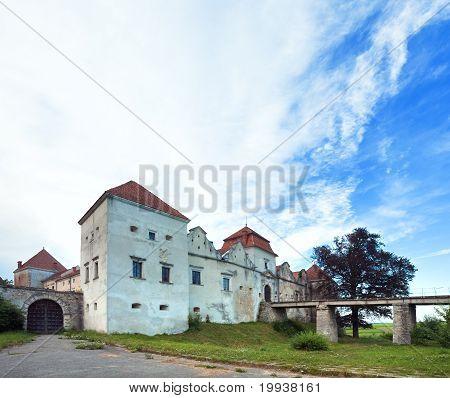 Summer Evening Svirzh Castle View(ukraine).