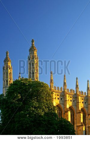 Kings Chapel  Cambridge  Uk