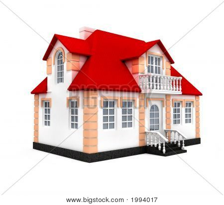 House Isolated 3D Model