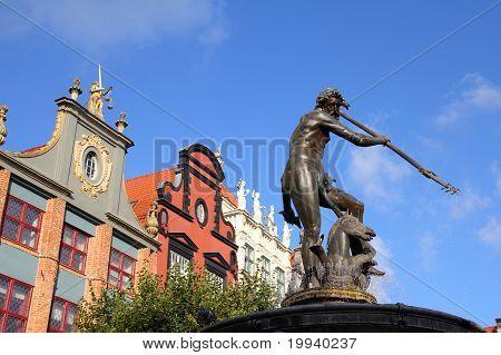 Gdansk - Neptune Fountain