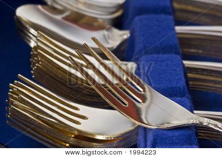 Gold Gabel