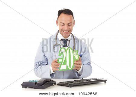 Health Care On Sale, 20 %