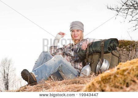 Camping joven