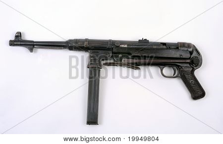 German Mp40 Schmeisser Smg