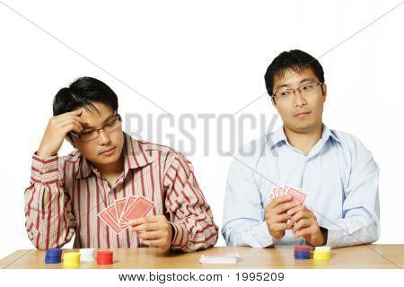 Poker zu spielen