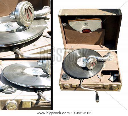 Portable Gramophone
