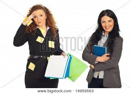 Organized And Disorganized Business Women
