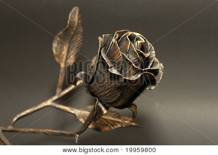Metallic Rose