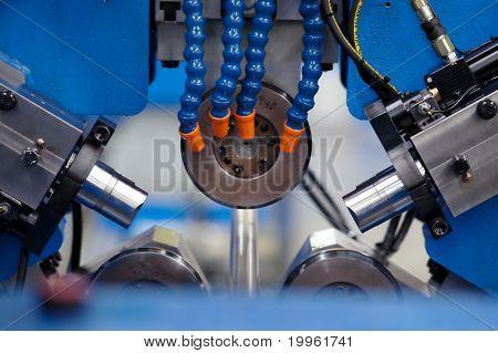 Machine shop background