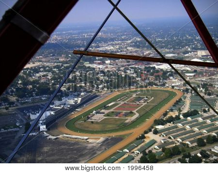 Aerial View Of Churchill Downs