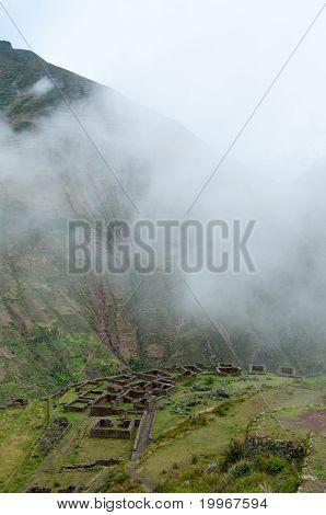 Incas livings near Pisac, Peru