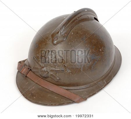 Great War French helmet