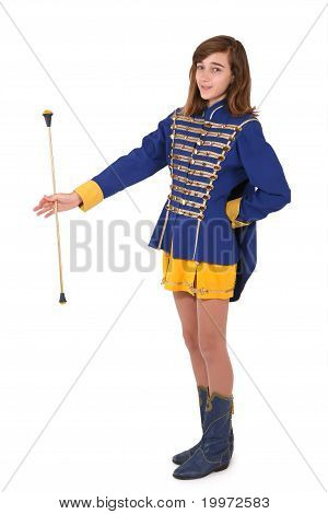 Teenage Majorette