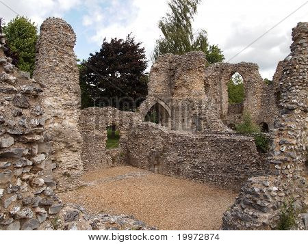 ruin of wolvesey castle