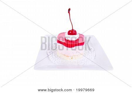 Cheesecake With Cherries