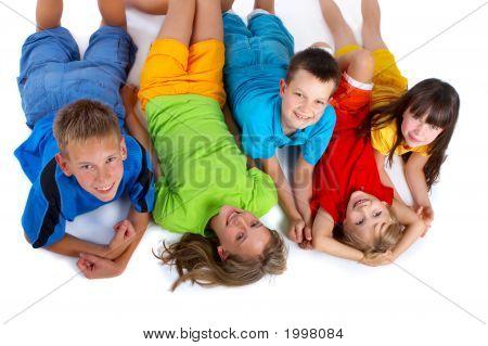 Grinning Kids