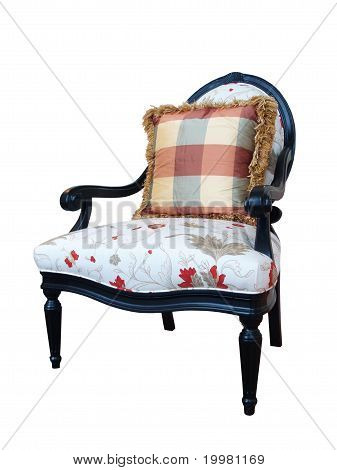 Isolated Elegant Chair