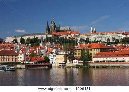 View On The Prague Castle