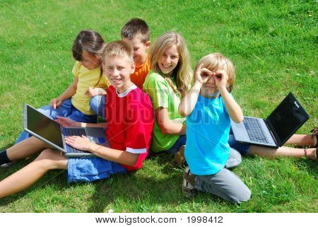 Children And Laptops