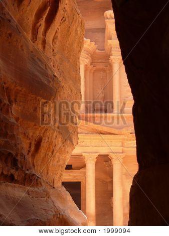 Treasury, The Siq, Petra, Jordan