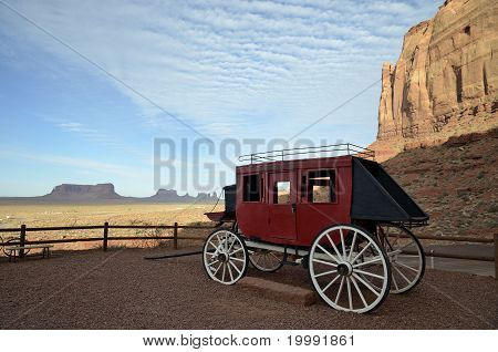 Monument Valley Stagecoach