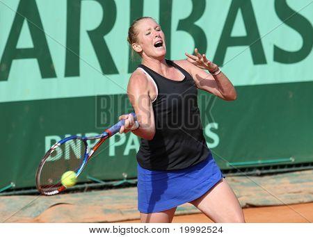Lindsay Lee-waters (usa) At Roland Garros 2011