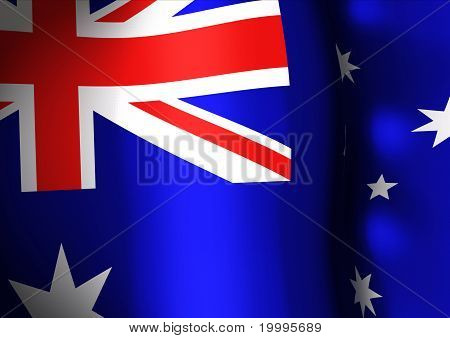 National flag of Australia