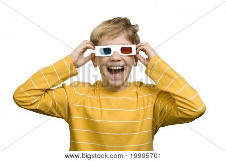 Laughter With 3-d Effect