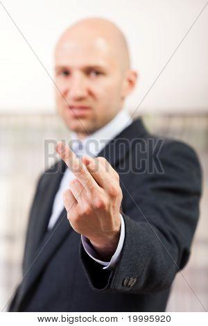 Middle Finger Gesture