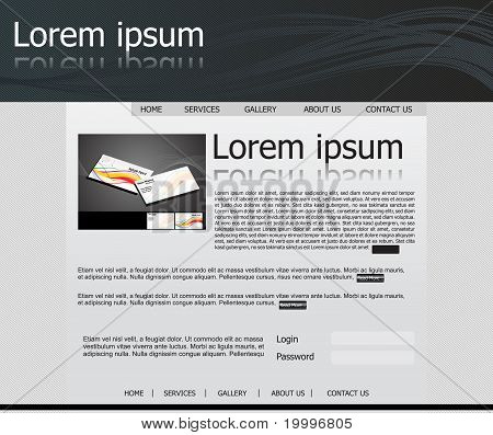 Abstract Web Template