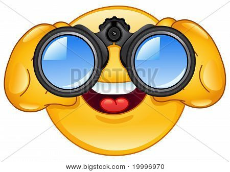 Binoculars Emoticon