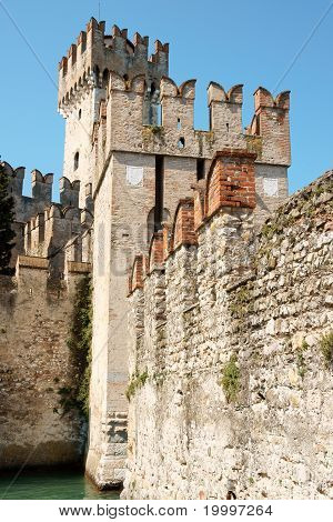 Scaligers Castle Of Sirmione