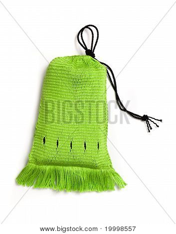 Green Handwoven Bag