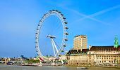 LONDON, UNITED KINGDOM - MAY 6: London Eye on May 6, 2011 in London, United Kingdom is the tallest F