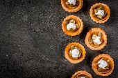Spicy Pumpkin Tartlets poster