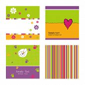 pic of tea party  - Set of abstract backgrounds - JPG